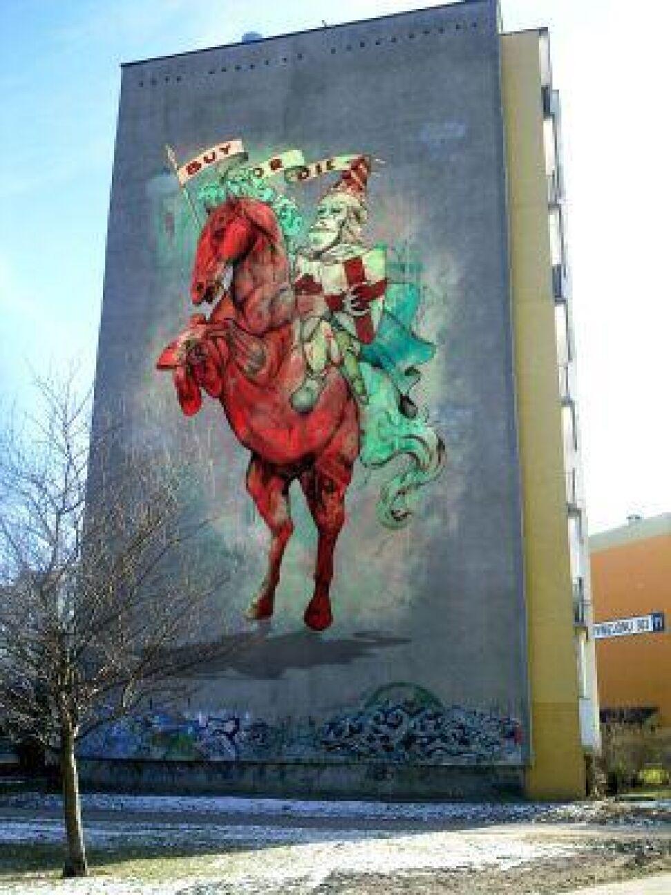 I stan za kilka dni - to projekt artysty z Argentyny