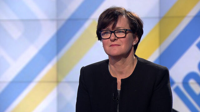 "Joanna Kluzik-Rostkowska w ""Jeden na jeden"""