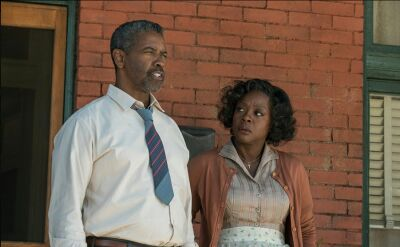 """Fences"" Denzela Washingtona"