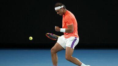 Bardziej niż ze zwycięstwa w meczu Nadal cieszył się ze zwycięstwa nad kontuzją
