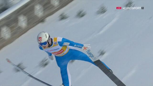 Granerud liderem po pierwszej serii sobotniego konkursu w Zakopanem
