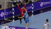 Sprytny rzut Mihicia w meczu Metalurg Skopje - Orlen Wisła Płock