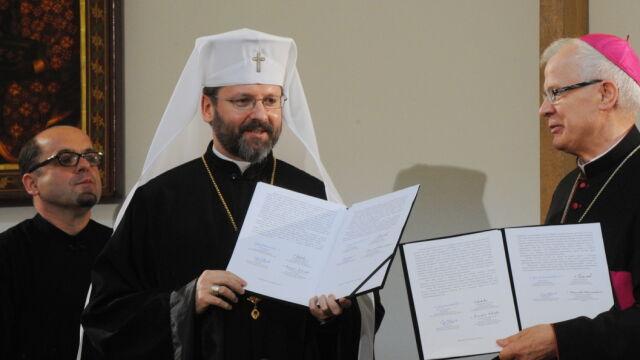 """Kościoły z Polski i Ukrainy przepraszają za zbrodnię wołyńską. """"Tylko prawda może nas wyzwolić"""""""
