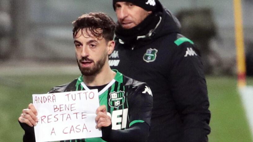 """""""Światło na końcu tunelu"""". Włoski piłkarz myśli o następnym apelu"""