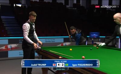 Judd Trump awansował do 3. rundy Gibraltar Open