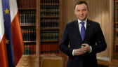 Wystąpienie prezydenta Andrzeja Dudy