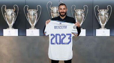 Benzema podpisał nowy kontrakt.