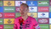 Cort Nielsen po wygraniu 6. etapu Vuelta a Espana