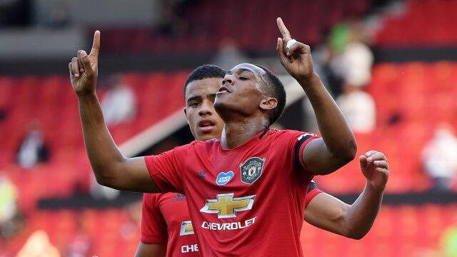 Manchester United zrobił krok w kierunku Ligi Mistrzów. Martial w roli głównej