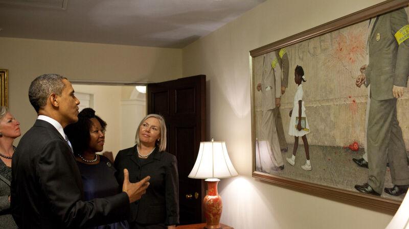 Ruby Bridges w Białym Domu