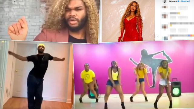 Taneczne wyzwanie Beyoncé. Fani prześcigają się w kreatywności