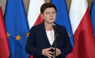 Beata Szydło: to było bardzo dobre spotkanie