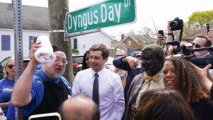 Dyngus Day w USA. Kandydat w wyborach prezydenckich podpisał