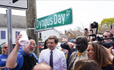 Tradycyjny Dyngus Day w South Bend w stanie Indiana