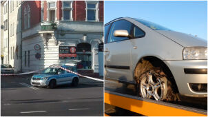 Policjanci strzelali, kierowca uciekał. Pościg w Niemodlinie