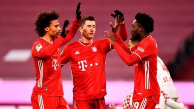 Dwa gole i asysta Lewandowskiego. Bayern rozpędził się po przerwie
