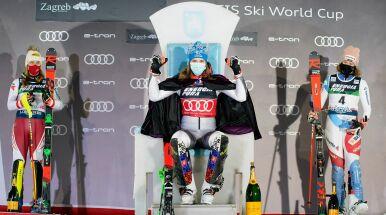 Liderka pokazała moc. Petra Vlhova wygrała slalom w Zagrzebiu