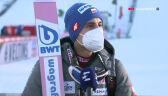 Maciej Kot po konkursie w Garmisch-Partenkirchen