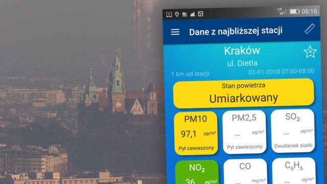 Krakowscy kierowcy mają darmowe autobusy. Powodem smog
