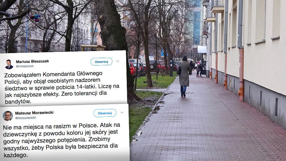 Atak na 14-latkę z Turcji. Premier: nie ma miejsca na rasizm w Polsce