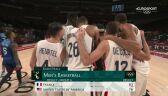 Tokio. Koszykówka mężczyzn. Amerykanie przegrali z Francuzami 76:83