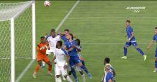 Tokio. Piłka nożna mężczyzn. Honduras – Rumunia 0:1 (gol Elvina Olivy)