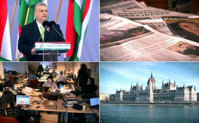 Wiktor Orban niemal całkowicie podporządkował sobie rynek mediów