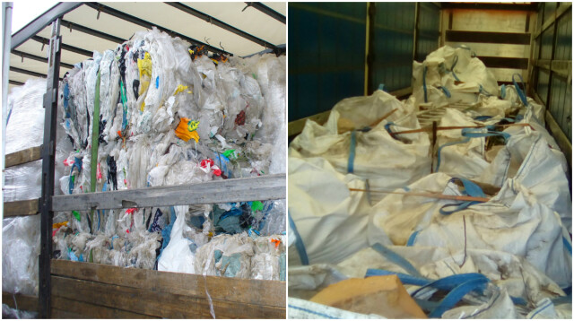 Celnicy zatrzymali na granicy prawie 47 ton odpadów z Niemiec