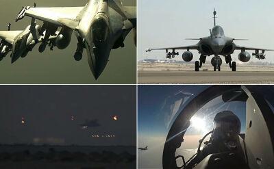 Sześć myśliwców Mirage, trzy Rafale. Francuzi pokazują swój debiut w Syrii