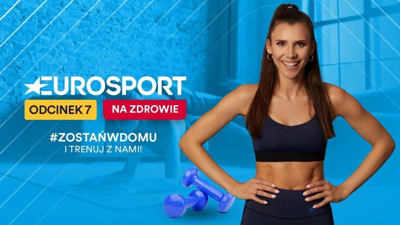 """""""Eurosport - na zdrowie"""". Niedzielny trening z Adrianną Palką"""
