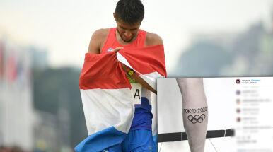 Przełożone igrzyska i problem z tatuażem.