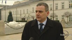 Wypych: PO wciąga prezydenta w wewnętrzne problemy PO (TVN24)