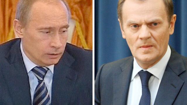 """Tusk przyjął zaproszenie Putina do Katynia. """"Doniosły krok"""""""