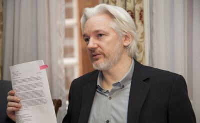 Julian Assange przebywa w ambasadzie Ekwadoru w Londynie