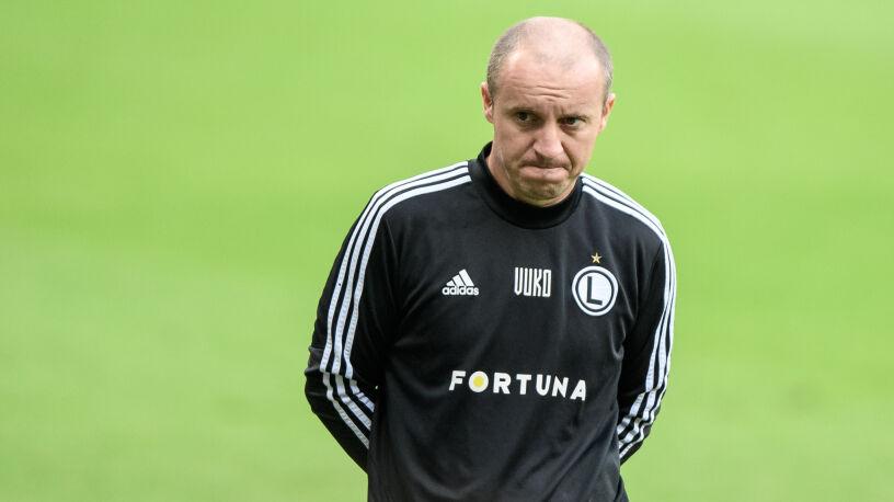 Vuković nie jest już trenerem Legii. Prezes bał się o Ligę Europy