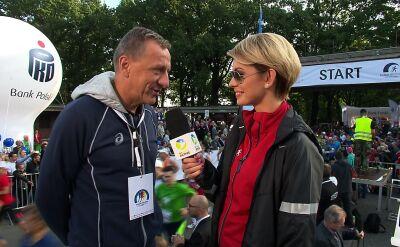 Jerzy Skarżyński: bieganie jest zaraźliwe
