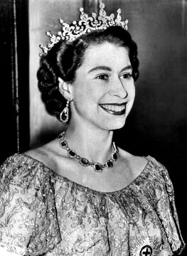 Elżbieta II w 1953 roku