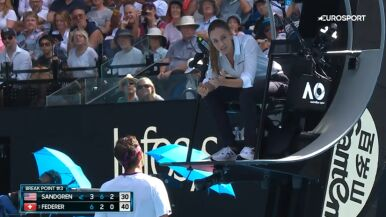 Federer podpadł sędzi, teraz musi zapłacić