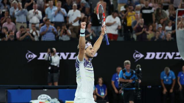 Wojna na tie-breaki. Thiem po raz pierwszy w finale Australian Open