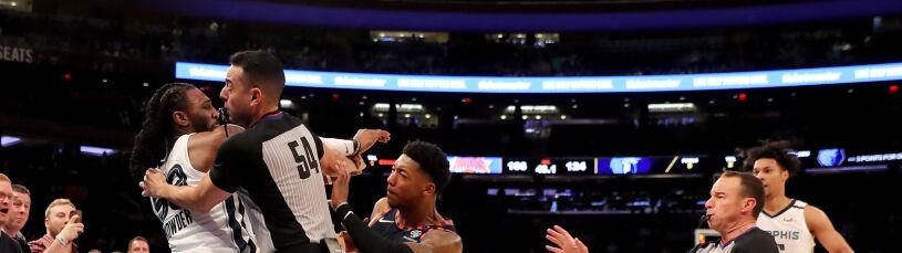 Awantura w NBA. Poszło o kontrowersyjny rzut