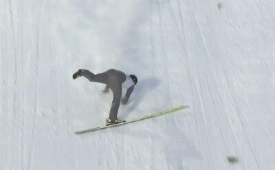 Upadek Deschwandena w kwalifikacjach w Sapporo