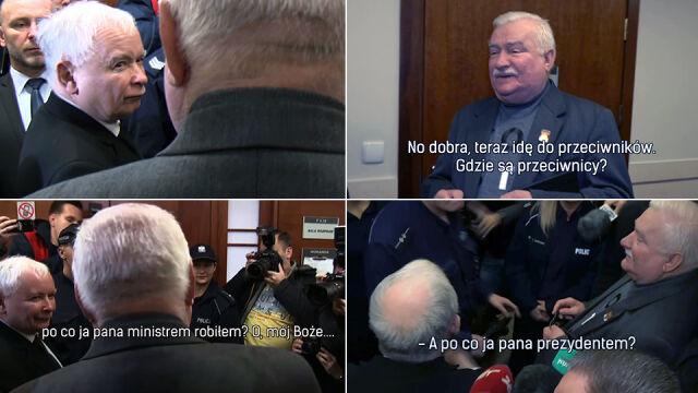 Lech Wałęsa i Jarosław Kaczyński. Historia pewnej znajomości
