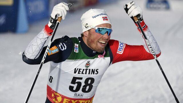 Pierwsza wygrana Iversena w sezonie. Będzie walczył o triumf w Tour de Ski