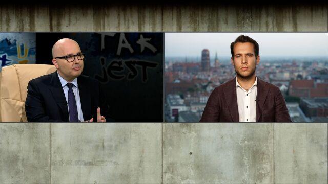 Robert Kropiwnicki i Jan Kanthak w Tak Jest