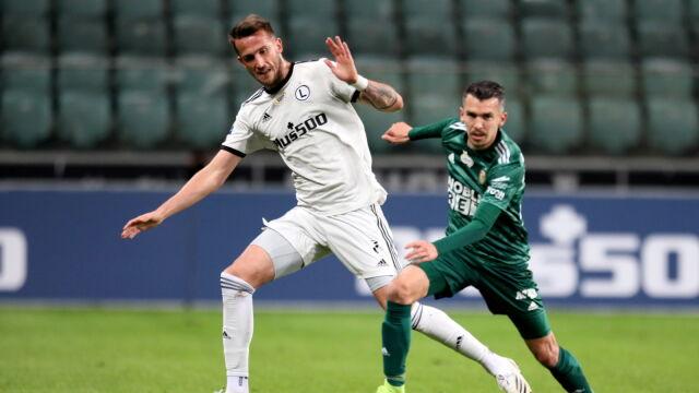 Legia pokonała Śląsk i dołączyła do ligowej czołówki
