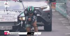 Maciej Bodnar na mecie 21. etapu Giro d'Italia