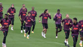 Trening Manchesteru United przed starciem z PSG w 1. kolejce Ligi Mistrzów
