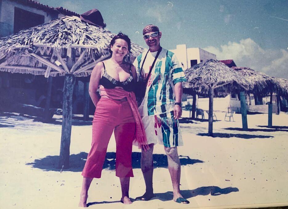 Jadwiga i Ryszard na Kubie. Wycieczka z okazji 30. rocznicy ślubu