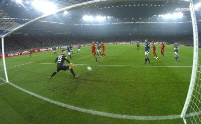 Skrót meczu Schalke - Bayern w ćwierćfinale Pucharu Niemiec