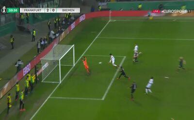 Drugi gol Eintrachtu Frankfurt w ćwierćfinale Pucharu Niemiec